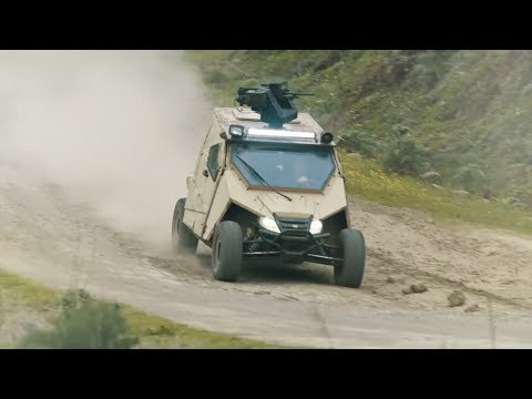Yagu – An Ultralight Special Ops Armored Vehicle