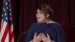 Ironworkers' union leader Vicki O'Leary accepts ENR's 2019 Award of Excellence