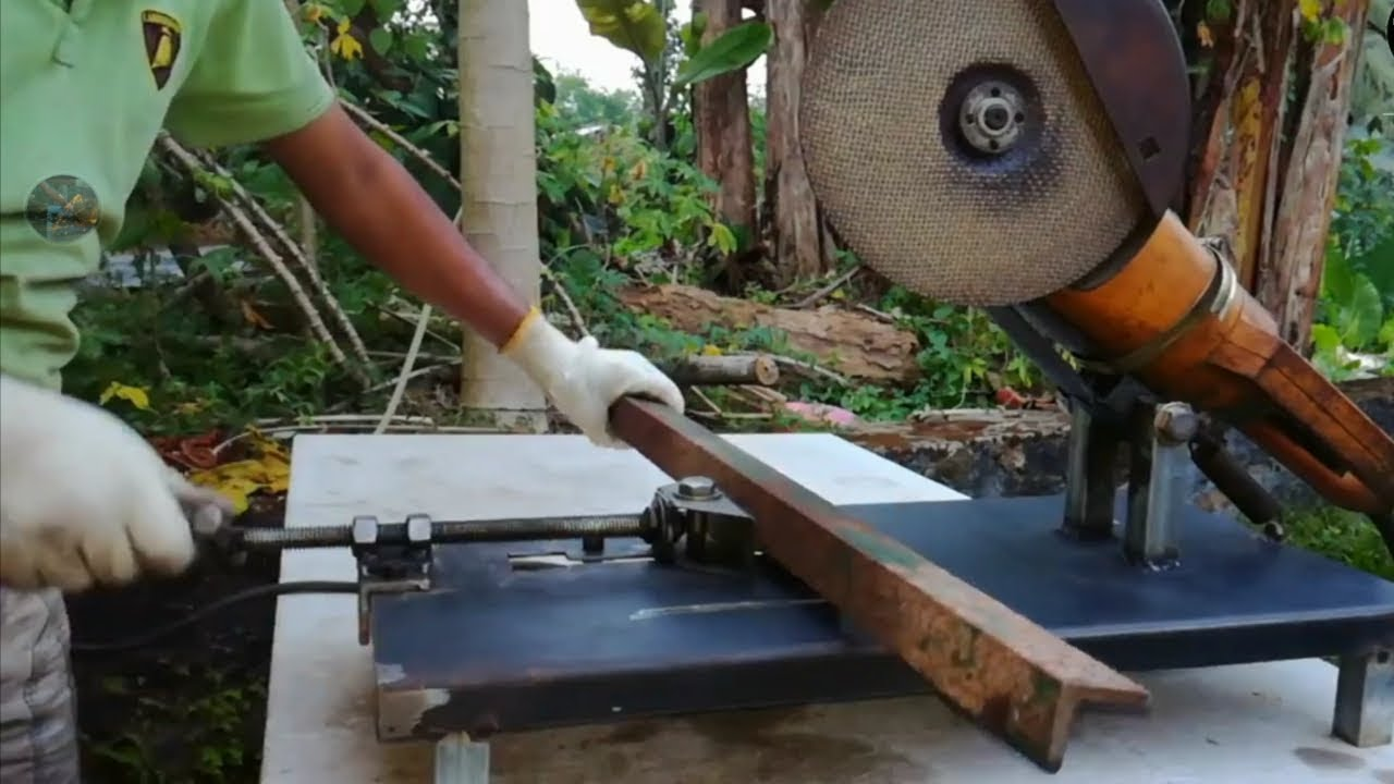 How To Make Your Own Tree Stand Make Your Own Large Angle Grinder Stand And Metal Chop Saw