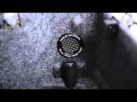 Harley-Davidson® BOOM! Audio Bass Booster Tour-Pak Port Kit 76000013