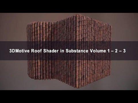 3DMotive – Roof Shader in Substance Volume 1