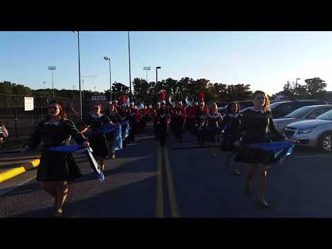 Sherando High School Marching Band - A neat perspective! 9-15-17