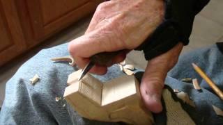 Whittling The Animal Shelf Sitters Part 2