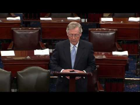 Mitch McConnell And Syria - I Guess A Turtle Can Twist Into A Pretzel
