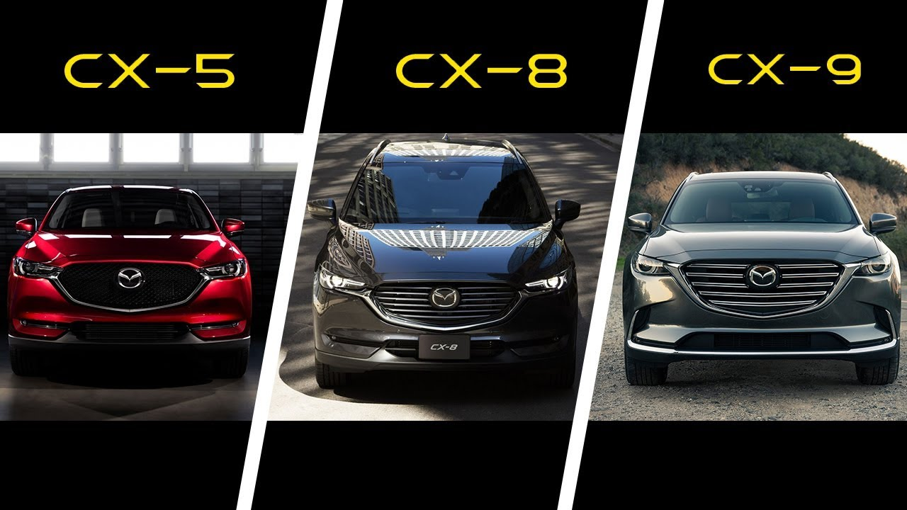 2017 mazda cx 5 vs 2018 mazda cx 8 vs 2017 mazda cx 9. Black Bedroom Furniture Sets. Home Design Ideas