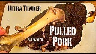 Ultra Tender Pulled Pork
