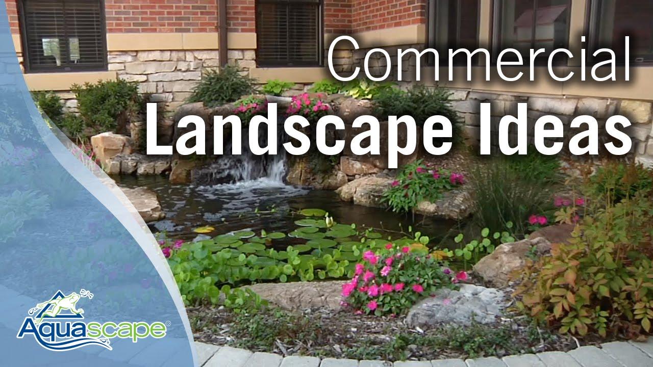 Commercial Landscape Ideas Youtube