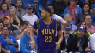 Anthony Davis Scores A Franchise Record 24 Points in a Quarter! | 02.26.17