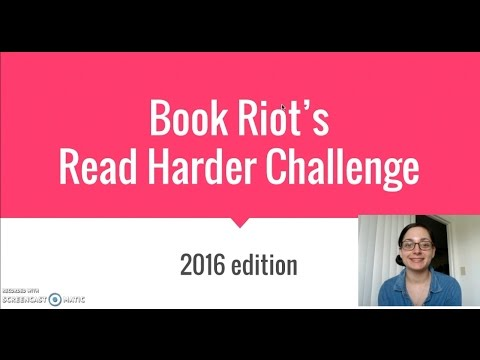 My Completed Read Harder Challenge | 2016 Year in Review