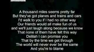 Download lagu hey there delilah lyrics