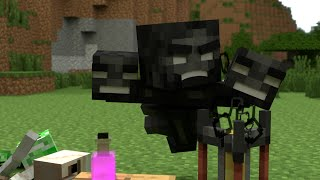 Monster School (Preschool) - Brewing - Minecraft Animation
