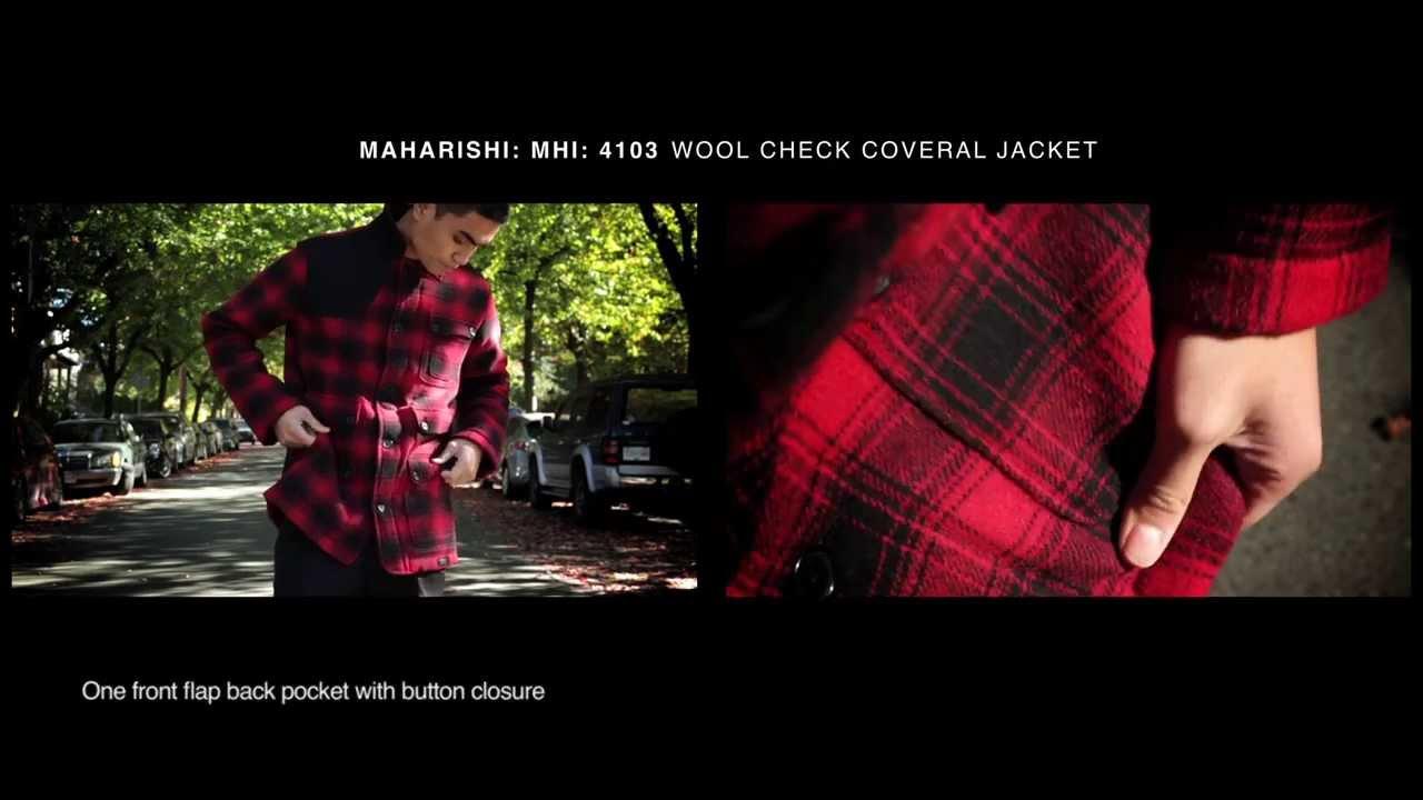 MHI Melton Deck Jacket