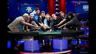 WSOP 2017 Main Event Final Table Set!