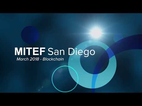 MIT Enterprise Forum San Diego – March 2018 – Blockchain