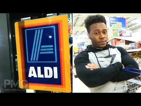 Food Shopping at Aldi & Tesco (Raw Footage)