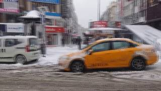 Bakırköy'e Kar Yağıyor 07.01.2017