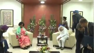 South African Minister of International Relations meets PM Modi