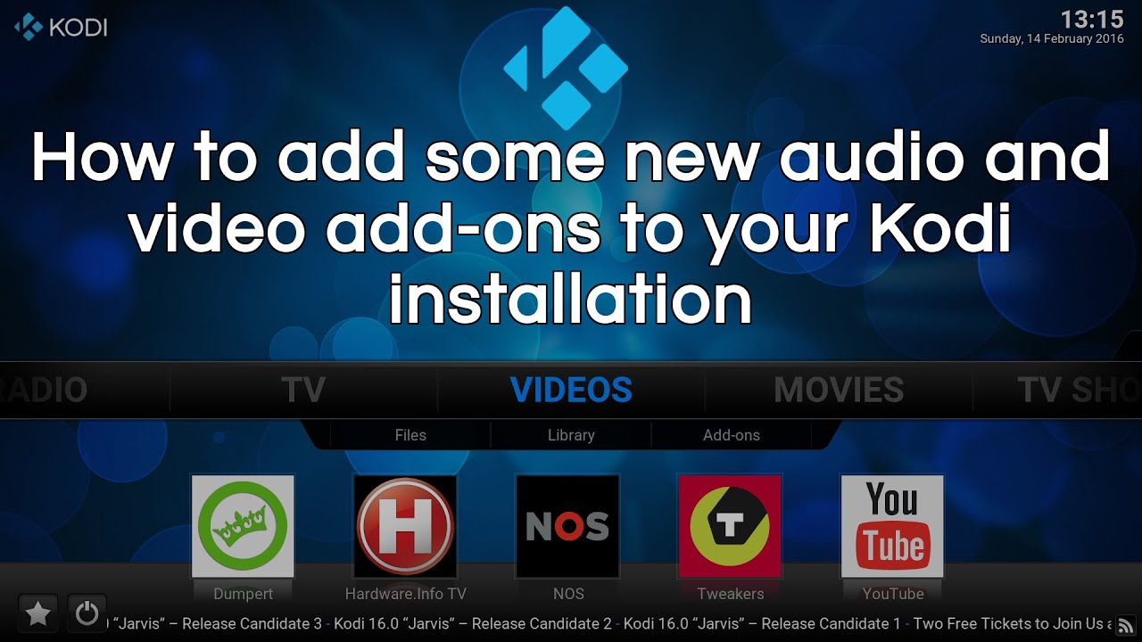 Add-on manager - Official Kodi Wiki