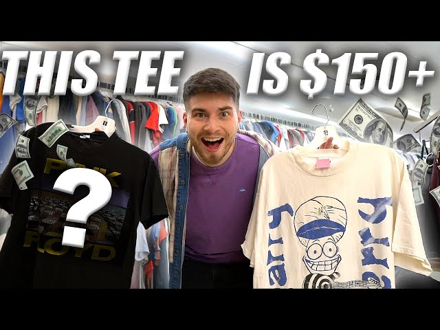I THRIFTED A $150 T-SHIRT!! Trip to the Thrift #317