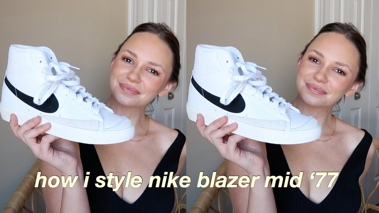 Sofocante Continental audible  How to Style Nike Blazer Mid '77 Try On (lookbook for summer/fall 2020) -  YouTube