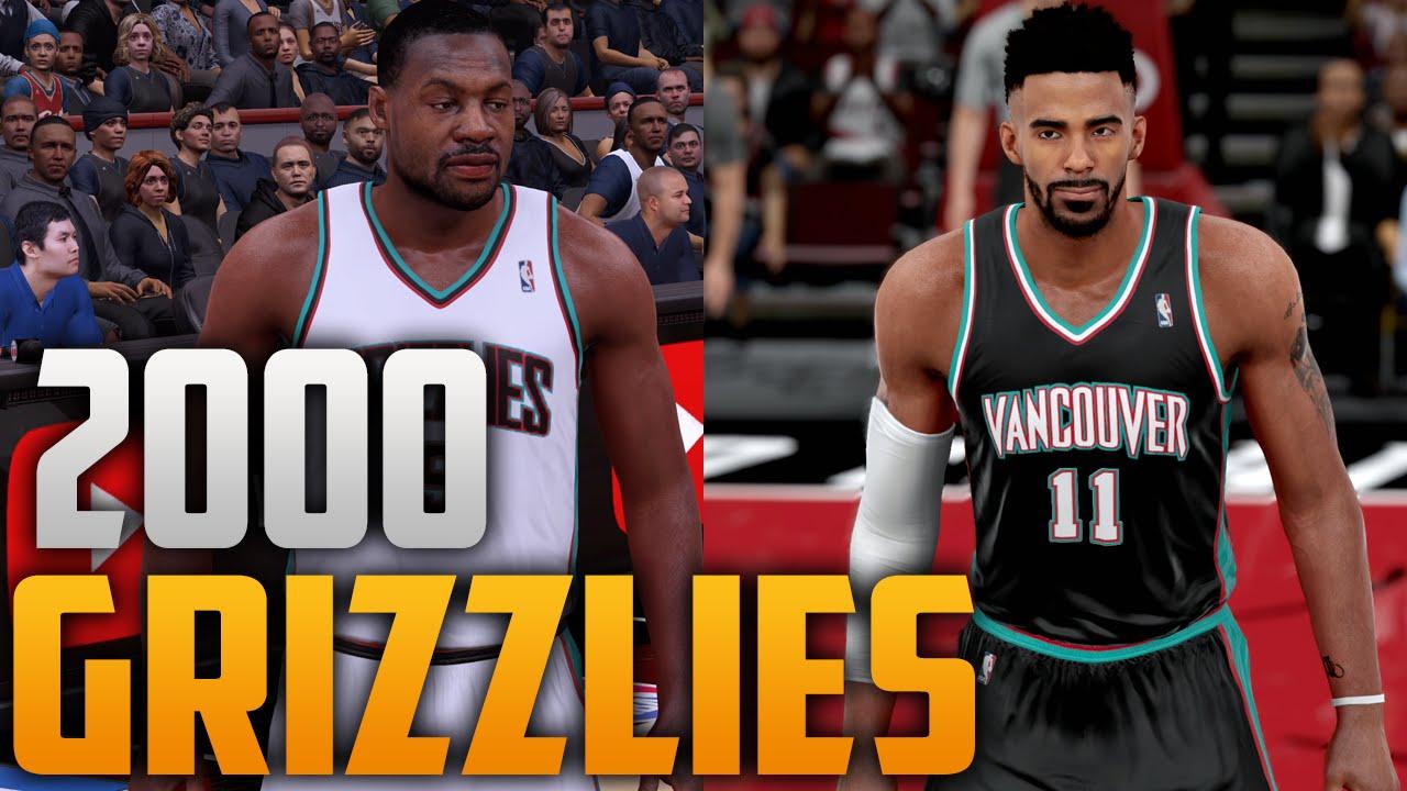NBA 2K16 2000 Vancouver Grizzlies Jersey   Court Tutorial - YouTube b6efa65f9