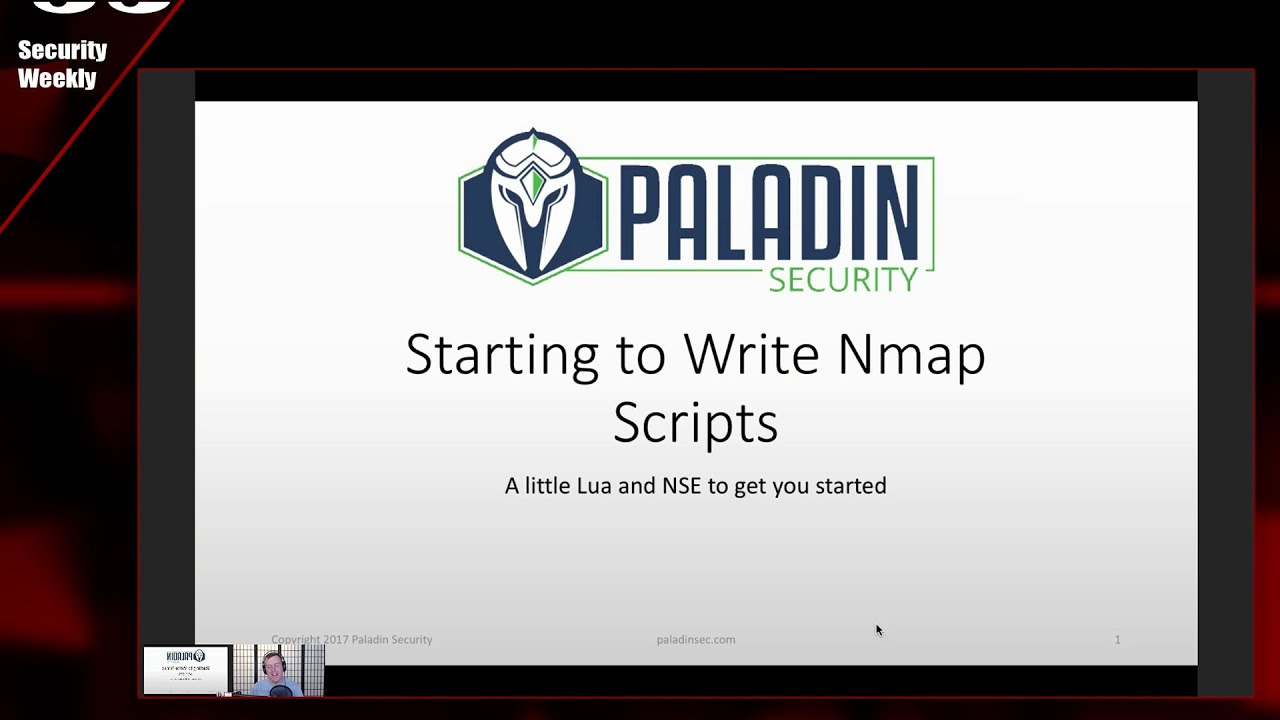 NMAP Scripts With LUA and NSE - Paul's Security Weekly #565