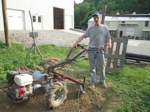 Walk Behind Tractor >> Bcs 853 Walk Behind Tractor With Disk Hiller Type Bedshaper