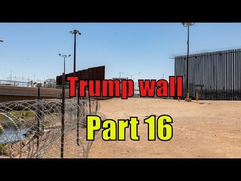 A LOOK at TRUMP's BORDER WALL -UPDATE 2020 - EL Centro Sector PART 16