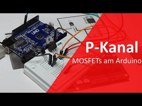 P-Kanal MOSFET mit einem Mikrocontroller ansteuern