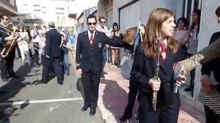 Los Salerosos. Recogida alumnos Ángel y Marina Andreu Muriel. Torrevieja 15.11.2015