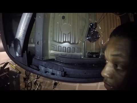 2016 Honda Pilot Curt tow hitch install