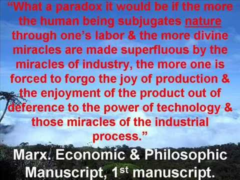 Marx & Engels on Nature, the Environment, and Society: Environmentalism