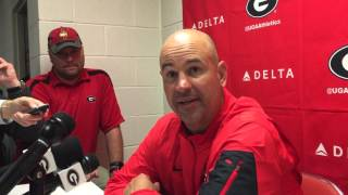 Georgia Defensive Coordinator Jeremy Pruitt After Tennessee Loss 10-10-15