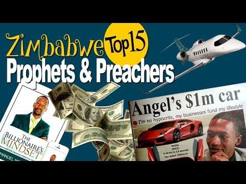 Zimbabwe Top 15 Prophets And Preachers  🎤✓✓✓