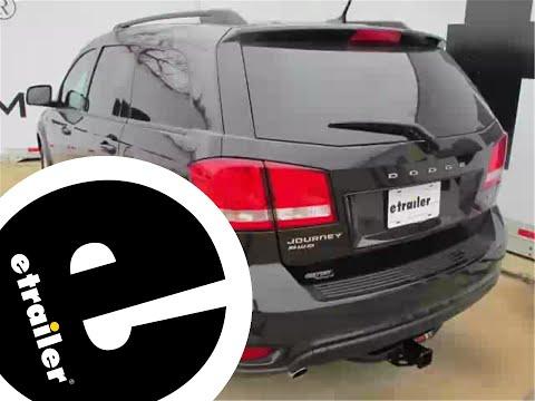 Trailer Hitch Installation - 2013 Dodge Journey - Curt - etrailer.com