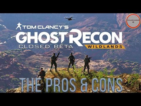 Ghost Recon: Wildlands Closed Beta | Pros & Cons