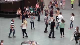 Poznań, Poland, International West Coast Swing Flashmob 2016