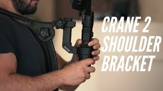 Crane 2 Shoulder Bracket Setup |Zhiyun| Accessory| By Momentum Productions