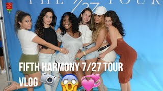 FIFTH HARMONY 7/27 TOUR VLOG (West Palm Beach)
