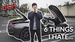 6 Things I HATE About My BMW i8 Roadster...