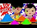 Holi Me Mach Gaya Dhamaal | Indian Festival Song | Kids Holi Song in Hindi | Kids Channel India