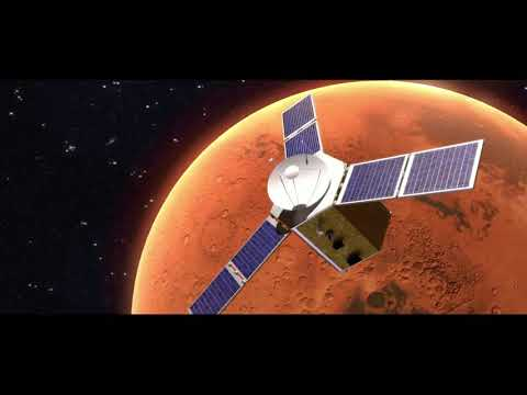 UAE's Hope probe successfully enters Mars' orbit.