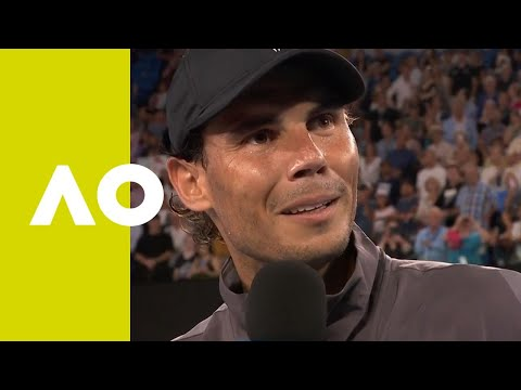 Rafael Nadal on-court interview (2R) | Australian Open 2019 Mp3