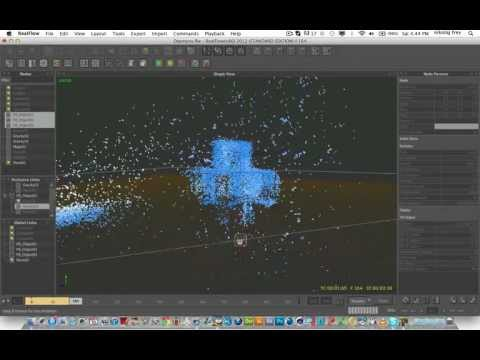 Realflow: Using Exclusive links and Global links in pair with Magic daemon