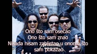Metallica The Unforgiven Serbian Lyrics