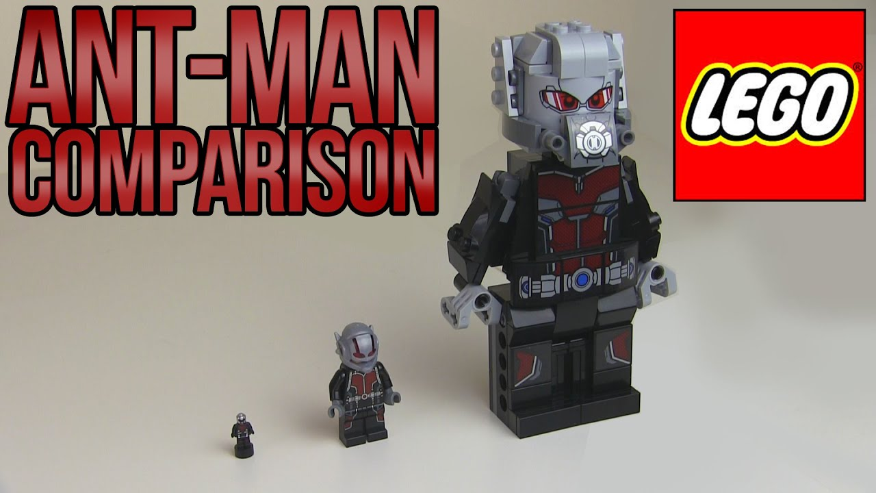 LEGO Ant-Man Comparison - YouTube