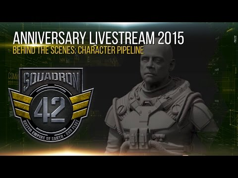 Squadron 42: Behind the Scenes - Character Pipeline