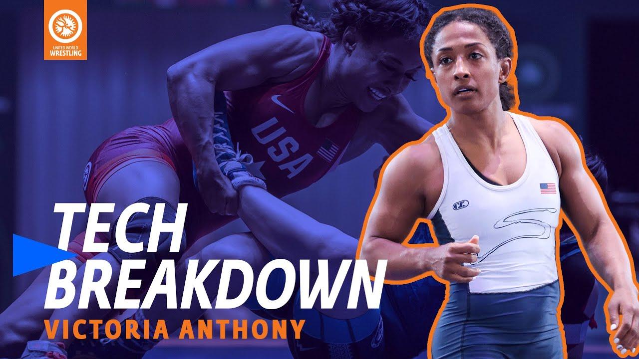 Victoria Anthony pancakes Vinesh - UWW Tech Breakdown