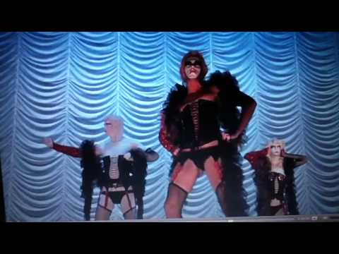 Rocky horror picture show burlesque scene