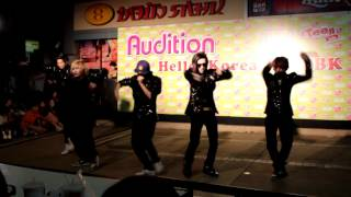 Tonight Fantastic Baby RealiZe cover Bigbang Audition Hello Korea 18 April 12